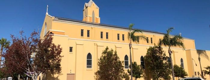 St. John's Catholic Church is one of Sergio M. 🇲🇽🇧🇷🇱🇷 님이 좋아한 장소.