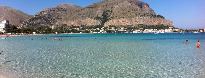 Spiaggia di Mondello is one of Sicily.