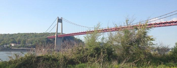 Pont de Tancarville is one of Tempat yang Disukai Marc.