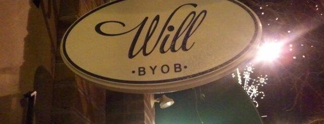 Will BYOB is one of 50 Best Restaurants in Philadelphia for 2013.