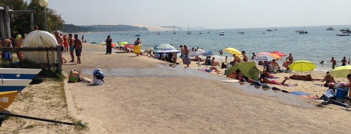 Plage du Pyla is one of Kevinさんのお気に入りスポット.