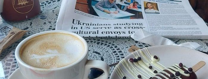 Львовская мастерская шоколада is one of Liliya : понравившиеся места.