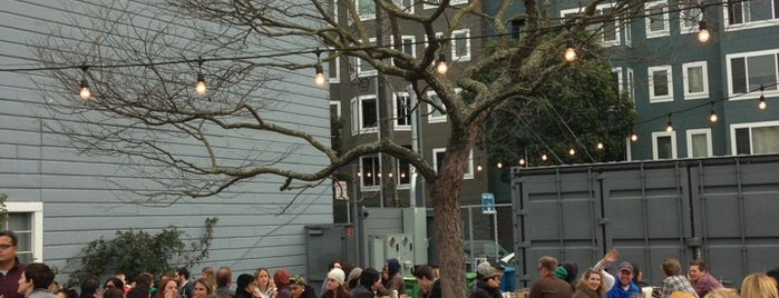 Biergarten is one of Non-Zeitgeist Patios in SF.