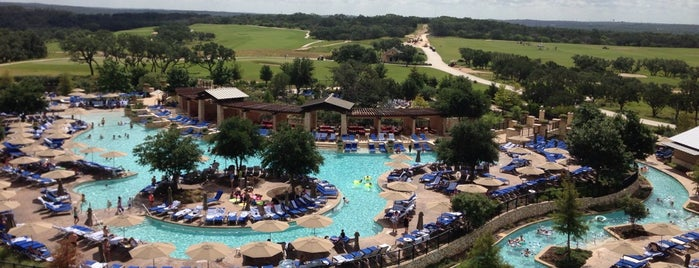 JW Marriott San Antonio Hill Country Resort & Spa is one of Tempat yang Disimpan Super.