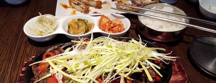 Youns Korean Soulfood Bar is one of Tempat yang Disukai Steven.