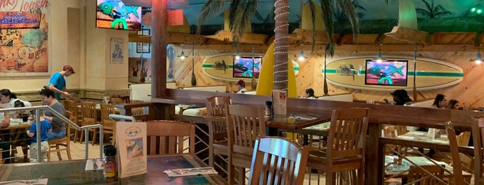 Jimmy Buffet's Margaritaville is one of Tempat yang Disukai Ryan.