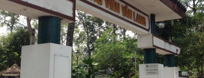 Van Lang park is one of Lieux sauvegardés par Bo.