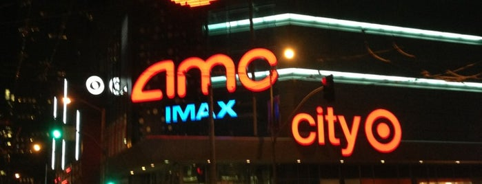 AMC Metreon 16 is one of The Bay.