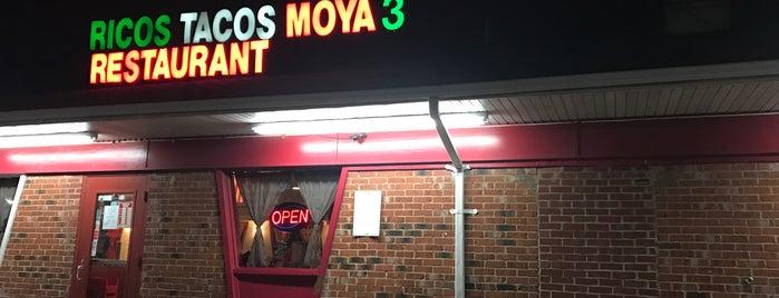 Ricos Tacos Moya is one of Posti che sono piaciuti a Mark.