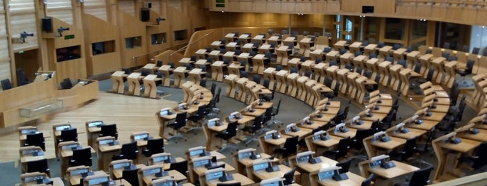 Scottish Parliament is one of Scotland.