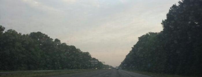 I-16 & I-95 Interchange is one of My everyday  :).