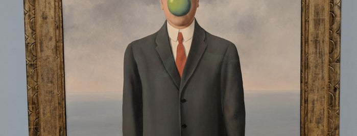 René Magritte - The Fifth Season is one of Davidさんのお気に入りスポット.