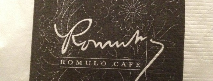 Romulo Café is one of SEA.