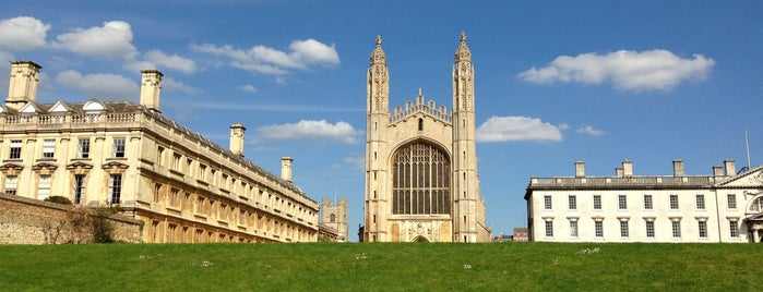 University of Cambridge is one of Tempat yang Disukai Carl.