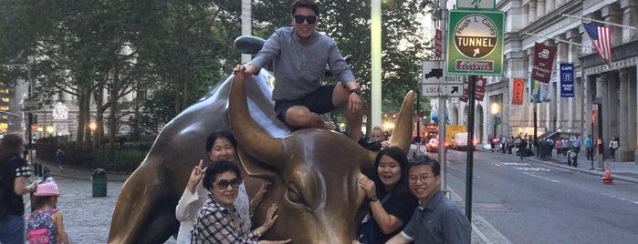 Toro de Wall Street is one of 7th 미국여행.