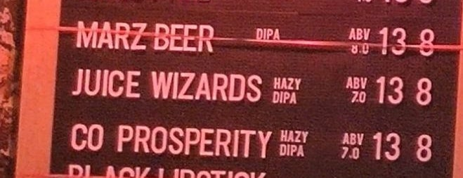 Marz Community Brewery is one of Hit List.