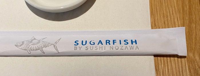 SUGARFISH by sushi nozawa is one of NYC.