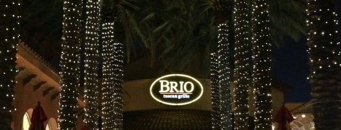 Brio Tuscan Grille is one of Lugares favoritos de Jaime.