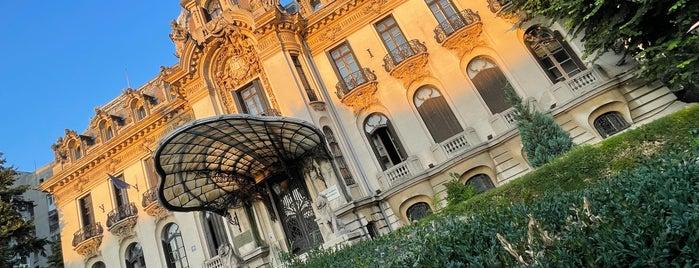 "Muzeul Național ""George Enescu"" is one of Bucharest."