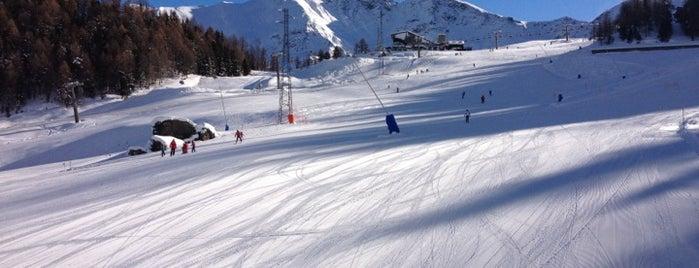Pila Ski Area is one of Locais curtidos por Elena.