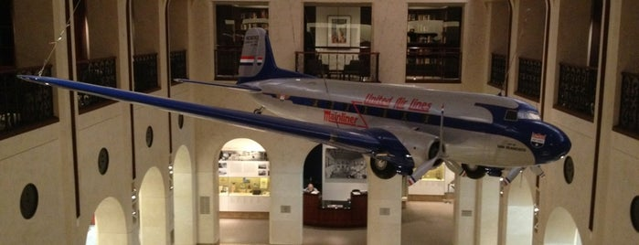 SFO Aviation Museum and Library is one of Cali Trip.