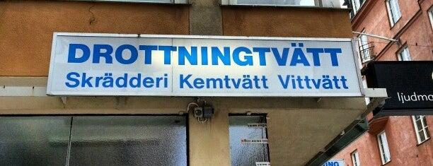 Drottningtvätten is one of Tempat yang Disimpan Hans.