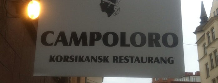 Campoloro is one of STHLM Food.