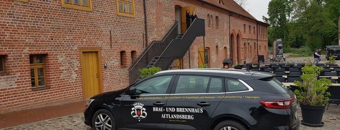 Brau- und Brennhaus Altlandsberg is one of Brandenburg Blog.