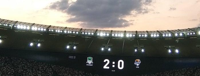 Стадион ФК «Краснодар» is one of Gespeicherte Orte von Rptr.