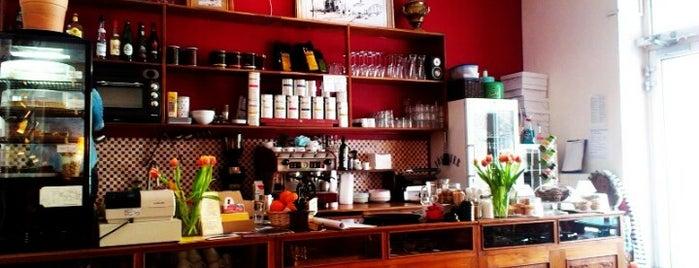 Cafe Nadia + Kosta is one of Berlin Best: Cafes, breakfast, brunch.