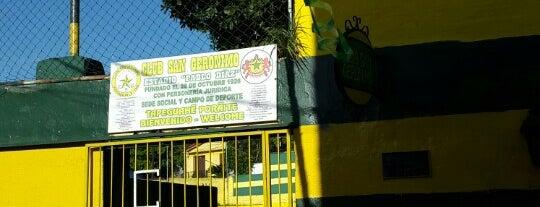 Club San Jerónimo is one of Aqui na terra tão jogando futebol.