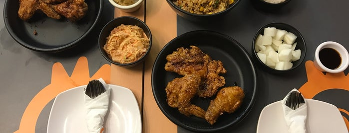 KimChikin (BonChon Chicken) is one of Asian Foody~.