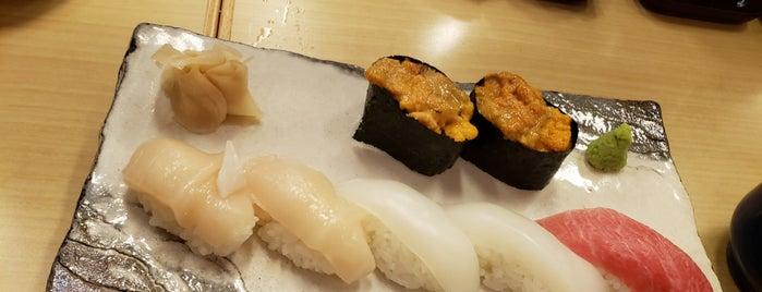 Tsukiji Sushisei is one of สถานที่ที่บันทึกไว้ของ Chris.