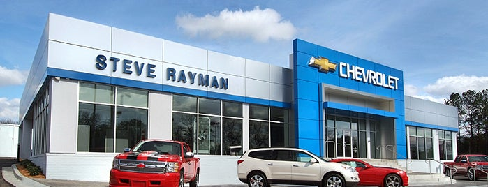Steve Rayman Chevrolet is one of Tempat yang Disukai Merilee.