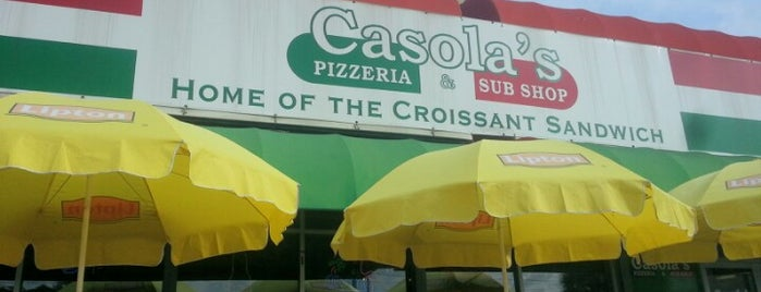 Casola's Pizzeria and Sub Shop is one of All ABout Pizza.