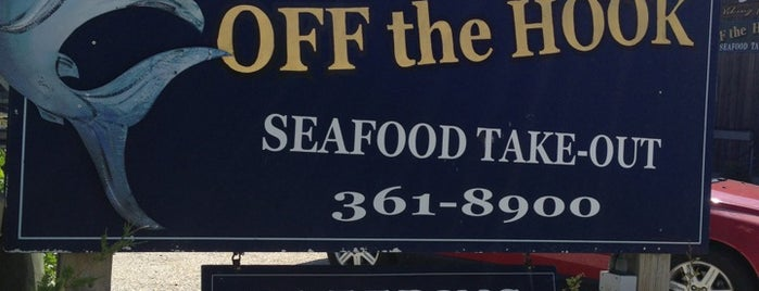 Off the Hook is one of Foodie NJ Shore 1.