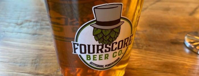 Fourscore Beer Co. is one of Gespeicherte Orte von G.