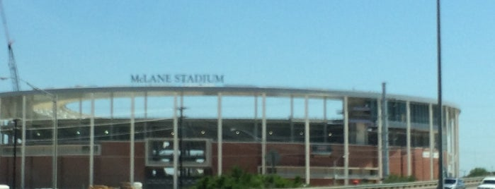 McLane Stadium is one of College Football Stadiums in Texas.