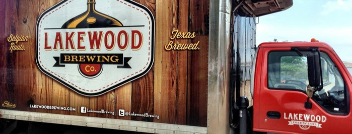 Lakewood Brewing Company is one of Dallas / Ft. Worth, TX.