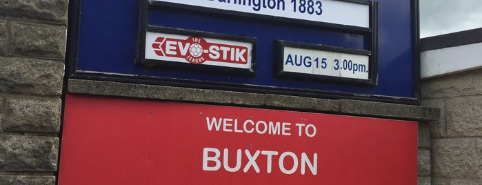 Silverlands (Buxton FC) is one of Non-League Football Grounds (Northern).