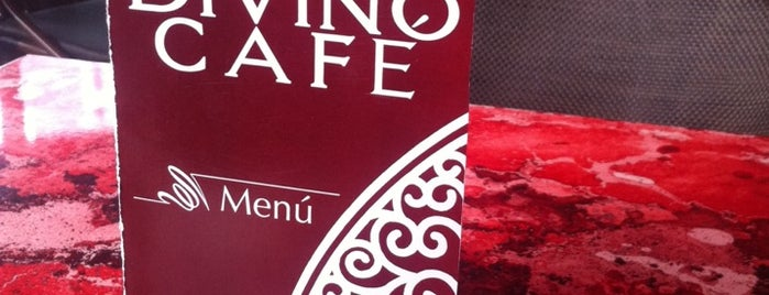 Divino Cafe is one of Being here.