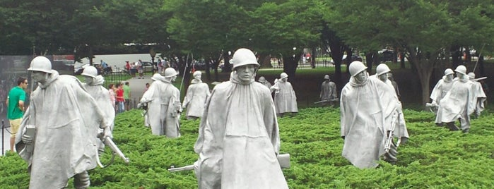 Korean War Veterans Memorial is one of DC - Must Visit.