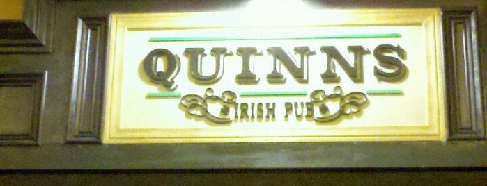 Quinn's Irish Pub is one of Tempat yang Disukai Michael.