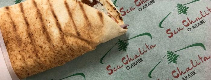 Seu Chalita - O Árabe is one of 🌆 SP - restaurantes (outros).