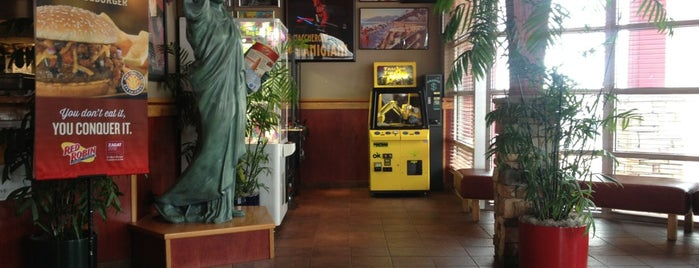 Red Robin Gourmet Burgers and Brews is one of Kenneth Knightley Best Eateries.