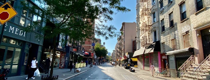 Lower East Side is one of NYC.