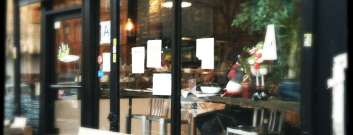 GreenStreets Salads is one of NYC To-do....