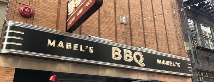 Mabel's BBQ is one of CLE.
