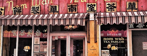 Nom Wah Tea Parlor is one of Places to Enjoy a Tiger Beer!.