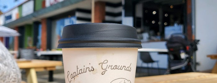 Captain Grounds Coffee is one of LA Adventures.